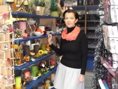 Pani Agnieszka - kierowniczka sklepu